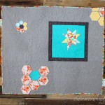 Swirls, feathers, loops: Custom free motion quilting on MQG challenge quilt